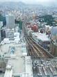 この写真は、38階展望台からの眺めです。